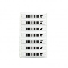 Ultra-Strip AM soft labels (58Khz) with barcode ZLDRS2
