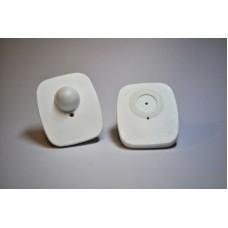 Mini square RF hard tags (WHITE)