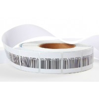 Roll (1,000) RF soft labels (8.2Mhz) 40mm x 40mm (with barcode)