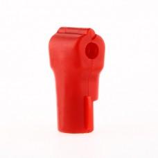 Anti-sweep stop locks for retail display hooks (RED)